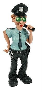 Фигурка декоративная Мисс Полиция 26см - фото 10866