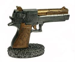 """Копилка """"Пистолет"""" 22*8*17см - фото 6884"""