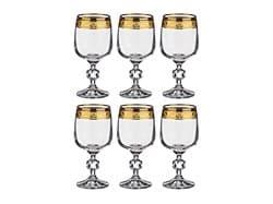 """Набор бокалов для вина """"Клаудия"""" 6шт, 230мл - фото 7192"""