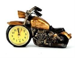 """Часы настольные """"Мотоцикл"""" - фото 8309"""