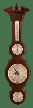 Часы-метеостанция БМ95 - барометр, термометр, гигрометр 68*17 см - фото 9639