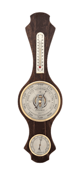 Метеостанция БМ79: барометр, термометр, гигрометр 15*50см - фото 9641