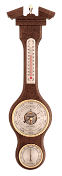 Метеостанция БМ52: барометр, гигрометр, термометр 47*13см - фото 9644