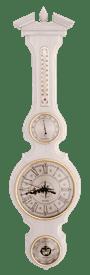 Часы-метеостанция БМ97 бел. - барометр, термометр, гигрометр 80*21 см