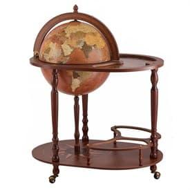Глобус-бар напольный со столиком d=42см, 50*80*95 см