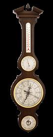 Часы-метеостанция БМ97 - барометр, термометр, гигрометр 80*21 см