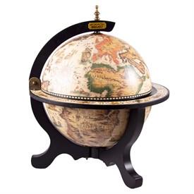 """Глобус-бар """"Открытие Нового света"""" настольный d=33cм, 40*40*50см"""
