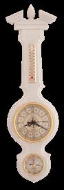 Метеостанция БМ94 бел: барометр, гигрометр, термометр 67*17см