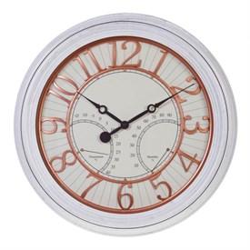Часы настенные с термометром и гигрометром, 50.8* 50.8 см