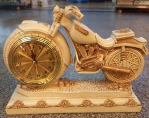 """Часы """"Мотоцикл"""" настольные 29*10*22см"""