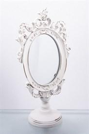 """Зеркало настольное """"Белоснежные узоры"""" 16*10*32 см"""