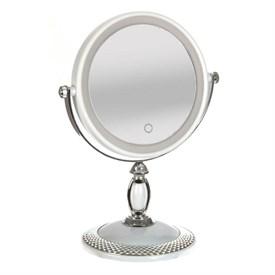 Зеркало настольное c подсветкой, 20*13*28 см