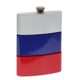 """Фляжка """"Флаг России"""" 270мл"""