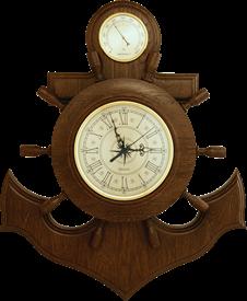 Часы - метеостанция БМ 6: гигрометр 60*50 см