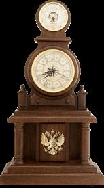 Часы-метеостанция БН1 - барометр  31*59 см Герб РФ