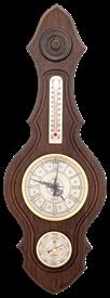 Часы-метеостанция БМ74 - барометр, термометр 20*56см