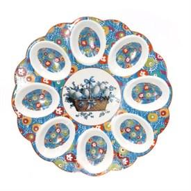 Тарелка для 8-ми яиц, D22 см