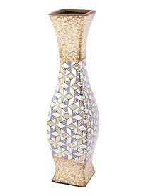 Ваза декоративная, керамика 12*12*46см