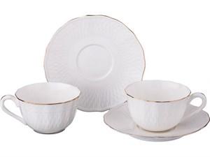 Чайный набор на 2 персоны 4 пр. 200 мл Lefard