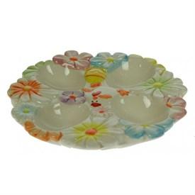 Тарелка под пасхальные яйца Весна 18*18см