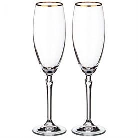 """Набор бокалов для шампанского 2 шт.""""Сelebration"""" 220 мл, Н25см"""