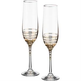 """Набор бокалов для шампанского 2 шт.""""Spiral"""" 190 мл, Н23см"""