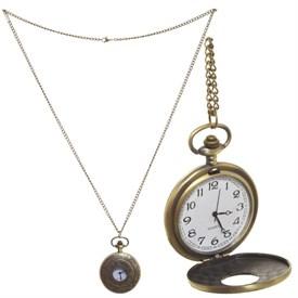 Часы карманные декоративные на цепочке, 4,5*6 см