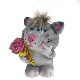 Копилка Влюбленный Котик, 11*9*13см