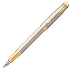 Перьевая ручка Parker IM Premium F323, Grey GT