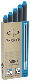 Картриджи стандартные с синими чернилами для перьевых ручек Parker