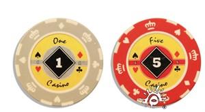 """Фишки для покера """"Crown"""" 14 грамм"""