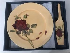 """Набор для торта """"Коралловая роза"""" D27см"""