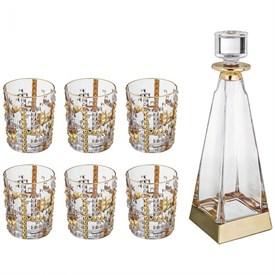 Набор для виски 7 пр.: штоф+6 стаканов 700/300 мл
