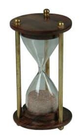 Сувенир: песочные часы на 1 мин. 10см