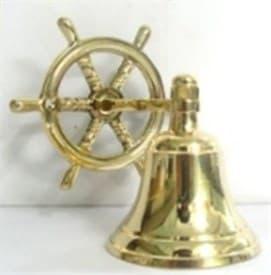 """Сувенир: """"Корабельный колокол - Рында"""" 12см"""