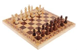 """Шахматы """"Дебют"""" 40*20*4 см"""