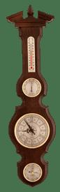 Часы-метеостанция БМ95 - барометр, термометр, гигрометр 68*17 см