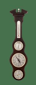 Часы-метеостанция БМ59 - барометр, термометр, гигрометр 54*12 см