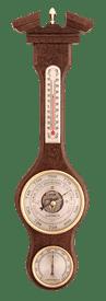 Метеостанция БМ52: барометр, гигрометр, термометр 47*13см