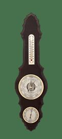 Метеостанция БМ71: барометр, гигрометр, термометр 52*14см