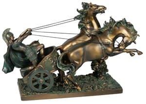 """Статуэтка """"Римская колесница"""" 33 см"""